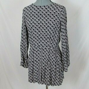 Zara Woman Dress Mini Open back Bell Sleeves Small